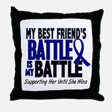 My Battle Too 1 BLUE (Female Best Friend) Throw Pi