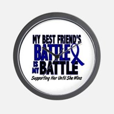 My Battle Too 1 BLUE (Female Best Friend) Wall Clo
