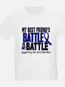 My Battle Too 1 BLUE (Female Best Friend) T-Shirt