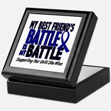 My Battle Too 1 BLUE (Female Best Friend) Keepsake