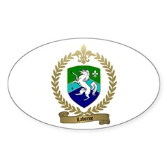 LABORNE Family Crest Oval Decal