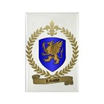 LABAUVE Family Crest Rectangle Magnet