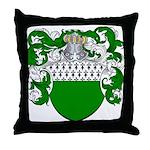Fey Family Crest Throw Pillow