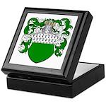 Fey Family Crest Keepsake Box