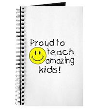 Proud To Teach Amazing Kids Journal
