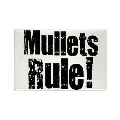 Mullets Rule! Rectangle Magnet