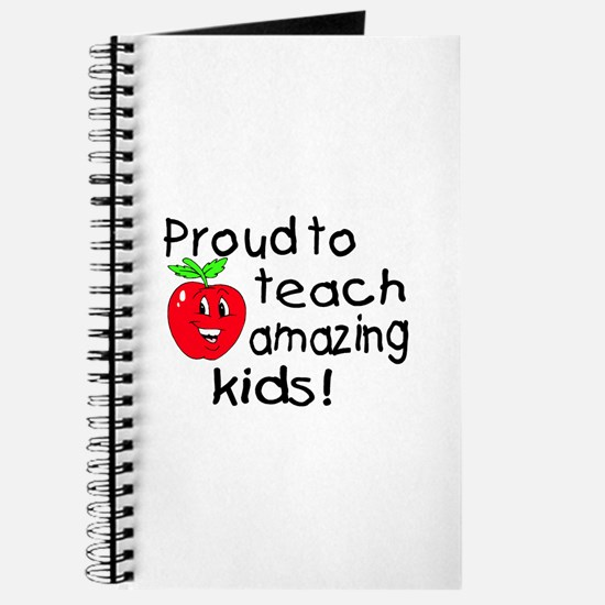 Proud To Teach Amazing Kids Journal