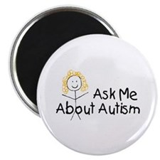 Ask Me About Autism Magnet