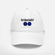 Blue Balls Baseball Baseball Cap