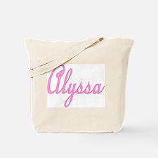 Alyssa Tote Bag