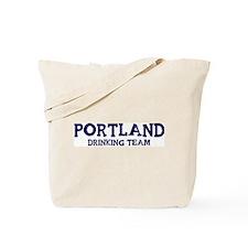 Portland drinking team Tote Bag