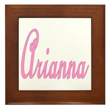 Arianna Framed Tile