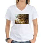 Souvenir Women's V-Neck T-Shirt