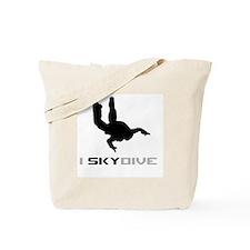 Cute Skydiving Tote Bag