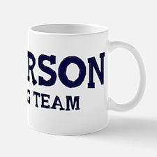 Paterson drinking team Mug