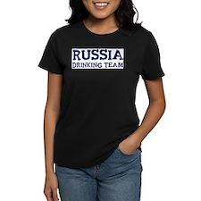 Russia drinking team Tee