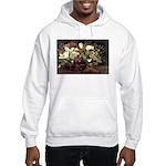 Basket of Flowers Hooded Sweatshirt