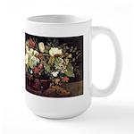 Basket of Flowers Large Mug