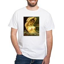 Woman in Water Shirt