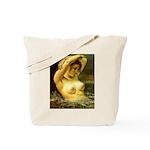 Woman in Water Tote Bag
