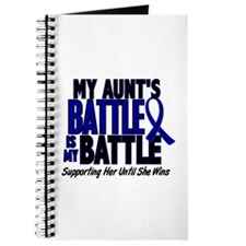 My Battle Too 1 BLUE (Aunt) Journal