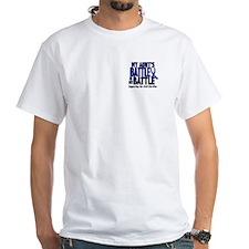 My Battle Too 1 BLUE (Aunt) Shirt