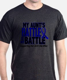 My Battle Too 1 BLUE (Aunt) T-Shirt