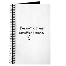 I'm Out Of My Comfort Zone Journal