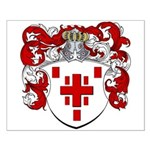 Hage Family Crest Small Poster