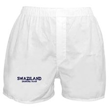 Swaziland drinking team Boxer Shorts