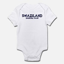 Swaziland drinking team Infant Bodysuit
