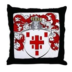 Hage Family Crest Throw Pillow