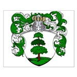Hagedoorn Family Crest Small Poster