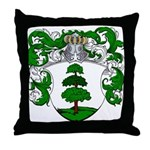 Hagedoorn Family Crest Throw Pillow