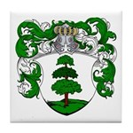 Hagedoorn Family Crest Tile Coaster