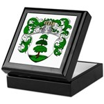 Hagedoorn Family Crest Keepsake Box