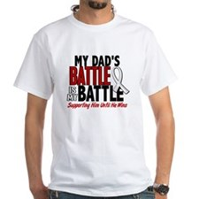 My Battle Too 1 PEARL WHITE (Dad) Shirt