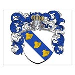Harting Family Crest Small Poster