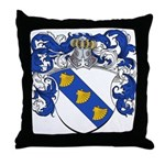 Harting Family Crest Throw Pillow