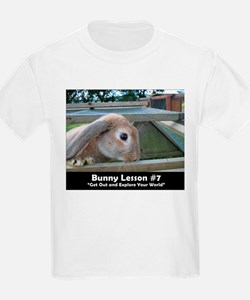 Bunny Lesson #7 Kids T-Shirt