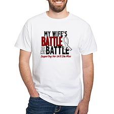 My Battle Too 1 PEARL WHITE (Wife) Shirt