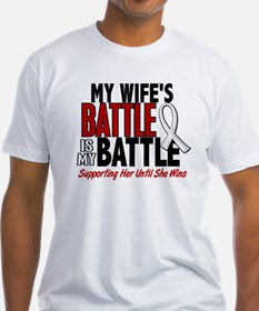 My Battle Too 1 PEARL WHITE (Wife) Shirt
