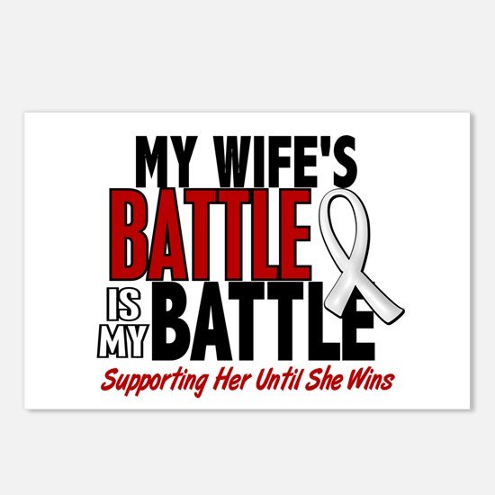 My Battle Too 1 PEARL WHITE (Wife) Postcards (Pack