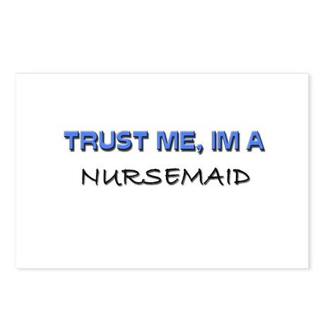 Trust Me I'm a Nursemaid Postcards (Package of 8)