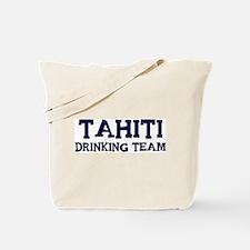 Tahiti drinking team Tote Bag