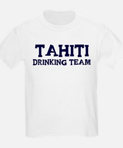 Tahiti drinking team T-Shirt