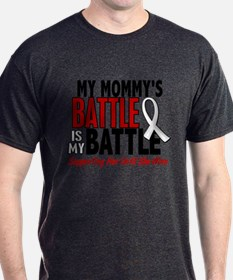My Battle Too 1 PEARL WHITE (Mommy) T-Shirt
