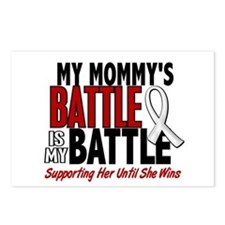 My Battle Too 1 PEARL WHITE (Mommy) Postcards (Pac