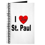 I Love St. Paul Minnesota Journal
