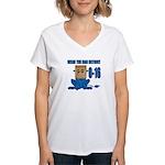 Wear The Bag Detroit Women's V-Neck T-Shirt